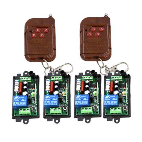 Home Automation 10a 1ch Gate Garage Door Wireless Remote Garage Door Home Automation