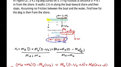 finding the center of gravity of a boat center of mass boat exle youtube