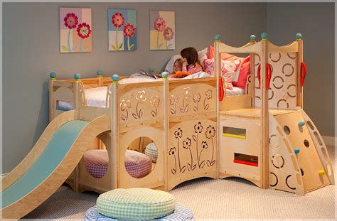 Wood Bunk Bed With Slide Lot Of With A Loft Bed With Slide Wooden Loft Bunk Bed With A Slide Furniture