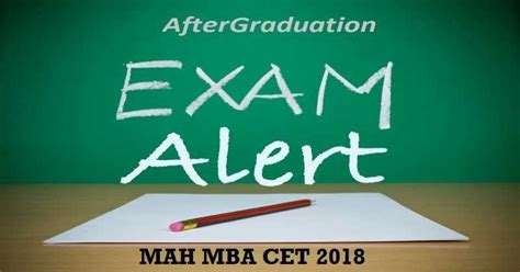 Exams Required For Mba by Mah Mba Cet 2018 Dates On 10 11 March