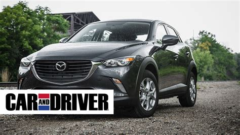 mazda car and driver mazda cx 3 review in 60 seconds car and driver