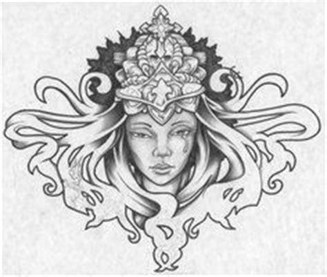 queen face tattoo 10 queen tattoo design ideas