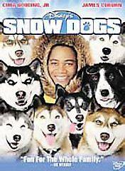 cuba gooding jr sled dog movie snow dogs disney dvd movie like new no scratches cuba