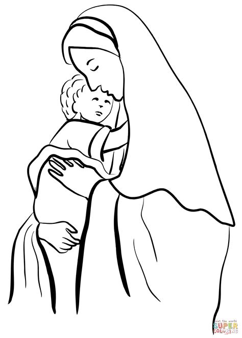 luxury mary and gabriel coloring page artsybarksy