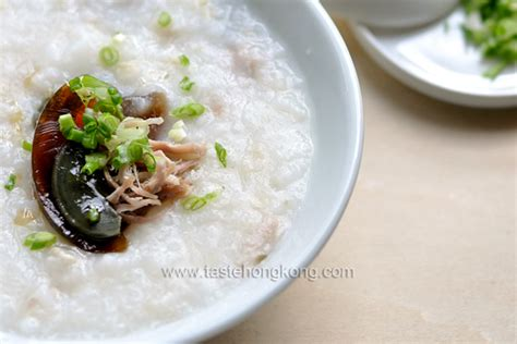 new year porridge recipe how to cook congee with salted pork century egg a