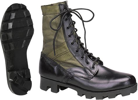 Jungle Boots Leather by Olive Drab Leather Jungle Boots