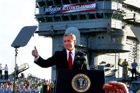 On The Road Mission Accomplished 2 by Eight Years Ago Bush Declared Mission Accomplished In