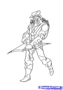 How To Draw Green Arrow Step By Dc Comics FREE Online  sketch template