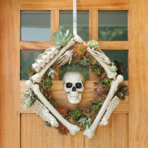 front door ready   halloween season