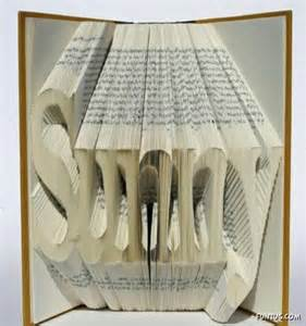 Book Origami The Of Folding Books - folding book pages to make alphabets amazing never u seen
