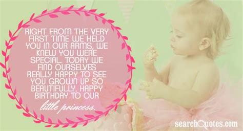 Baby Birthday Quotes Happy Birthday To My Baby Girl Quotes