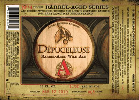 avery barrel aged series no 4 d 233 puceleuse 12oz limit 1