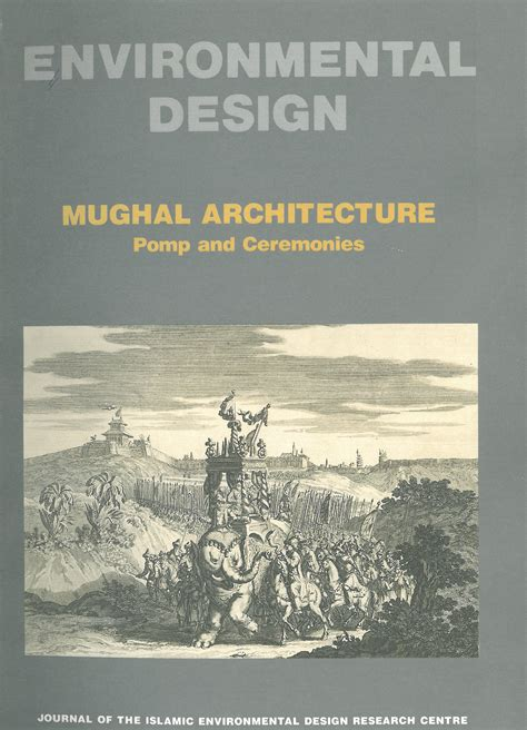 design for environment journal environmental design mughal architecture pomp and