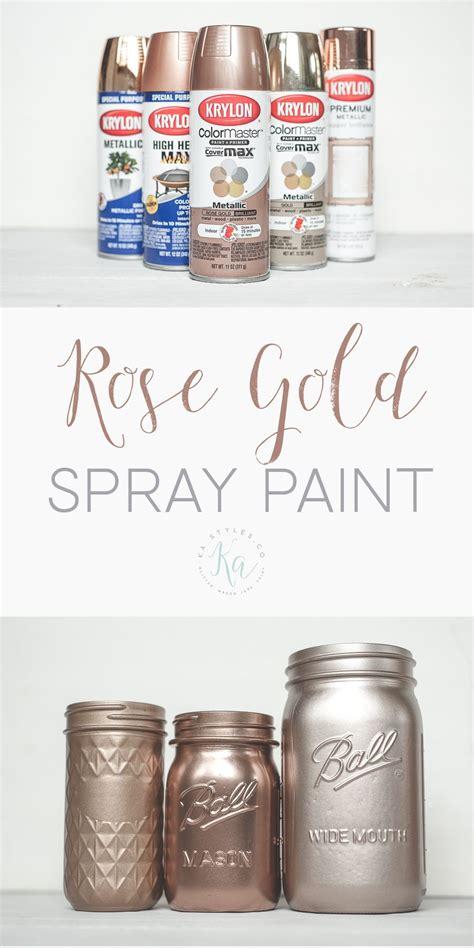gold spray paint ka styles gold