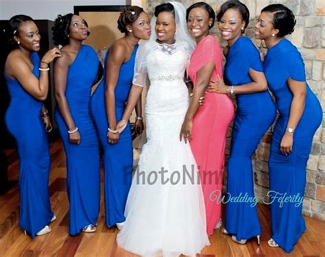 nigeria bridesmaids pictures blue bridesmaids dresses for nigerian weddings funkky dress