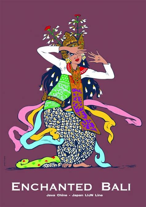 design poster indonesia enchanted bali 1 bali designs and illustrative artwork