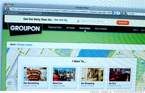 best tech deals site groupon ipo prices at 20 a nov 4 2011