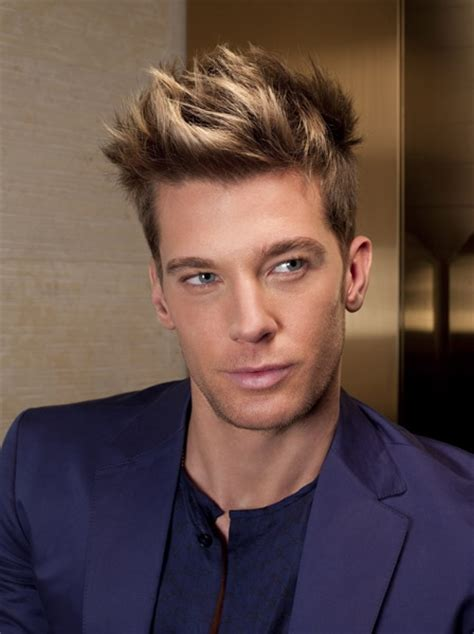 mens spiked hairstyles highlights trendy men s hairstyles pictures 2018