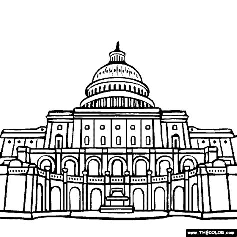 united states capitol building coloring page 100 free coloring page of the united states capitol