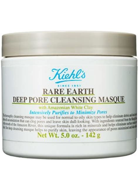 Masker Kiehl S kiehl s earth pore cleansing mask review