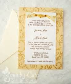handmade wedding invitations ideas