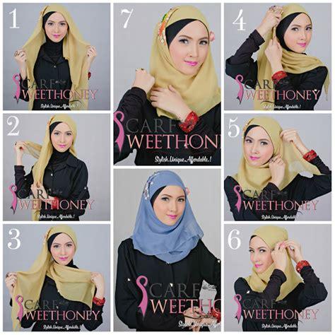 Terbaru Jilbab Tania Rumbai cara berhijab modern gaul dan cantik
