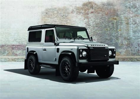land rover silver land rover defender silver black packs debuting at