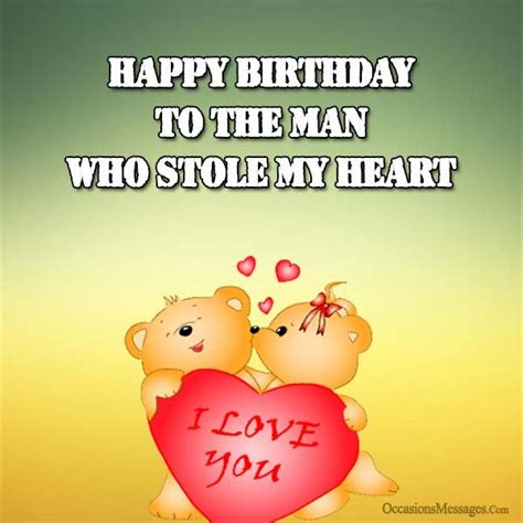 birthday wishes for boyfriend occasions messages