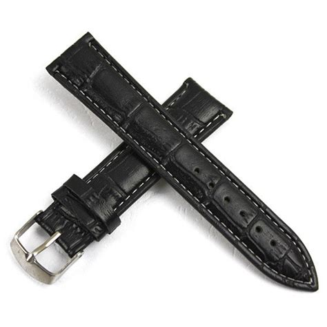 Tali Kulit Jam Tangan Bamboo Grain Watchband Leather 1 tali kulit jam tangan bamboo grain watchband leather 18mm black jakartanotebook