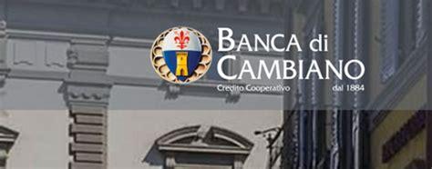 Banca Di Credito Cooperativo Di Cambiano by Banca Di Cambiano Conferma La Way Out E Diventa Spa