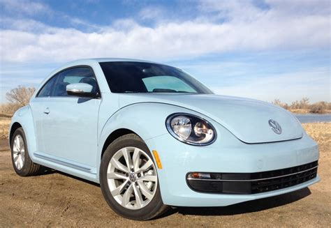 baby blue volkswagen beetle review 2013 volkswagen beetle tdi epa underrated