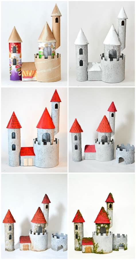How To Make A Castle Out Of Cardboard And Paper - 25 best paper towel ideas on paper