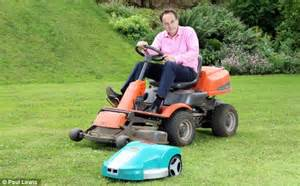 Garden Robot Think A Bosch Indego Robotic Lawnmower Would Take Stress