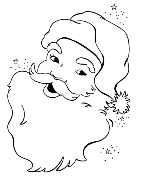 printable santa color pages coloring pages santa claus coloring pages free and printable