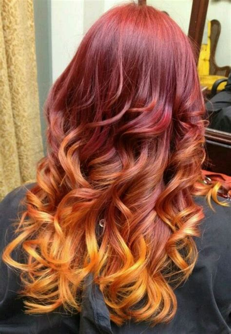 cheap haircuts richmond my new hair red pink orange and yellow ombre goodness