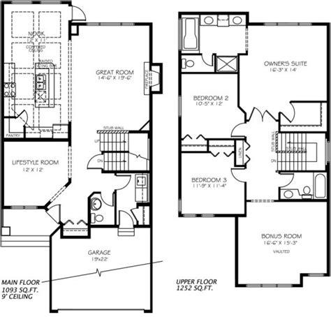 home floor plans edmonton madison e model home floor plan by pacesetter homes