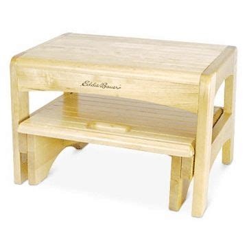 Safety 1st Wooden 2 Step Stool by Eddie Bauer Wooden 2 Step Stool