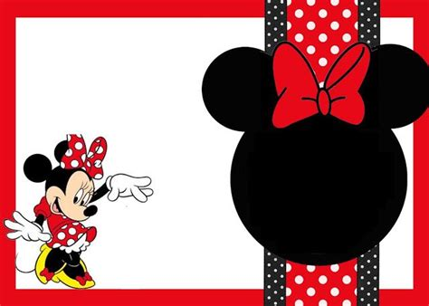 disney jr printable birthday cards 233 best images about minnie mouse printable on pinterest