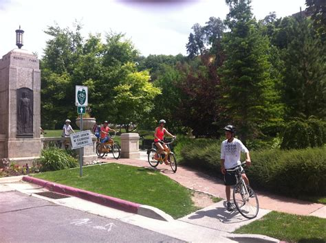 Bicycle And Square Wolvis salt lake bicycle tours
