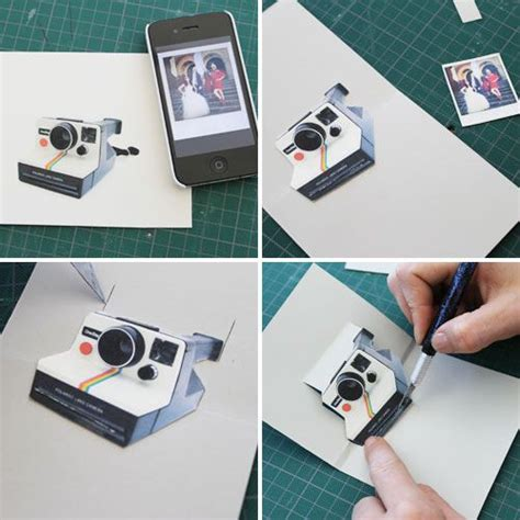 diy polaroid pop up card template 96 best images about ahg pen pals ideas on