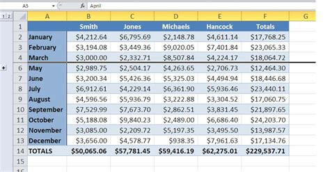 Auto Outline In Excel by Excel S Auto Outline Quickly Hides Data Details To