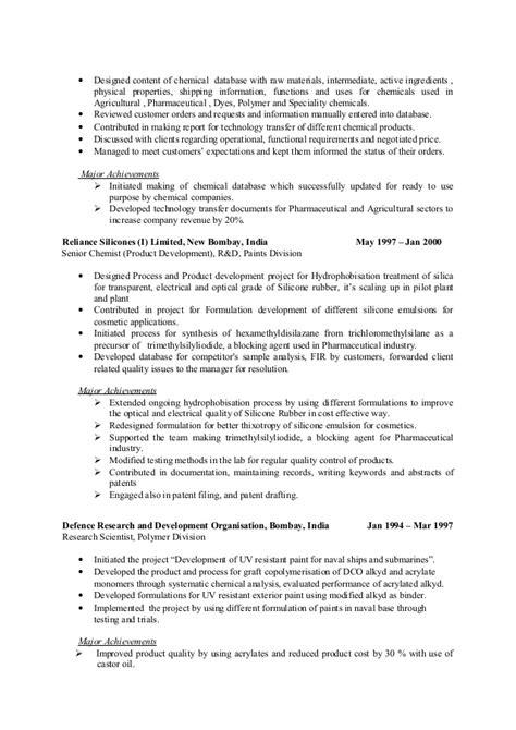 Resume Notable Accomplishments Resume Major Achievements