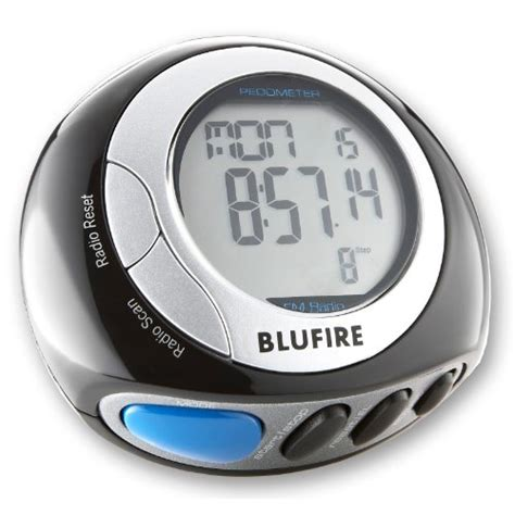Pedometer With Fm Radio Walking Steps Counting Calories Distance blufire pd20 digital pedometer with fm radio earphones calorie and step counter 3d technology