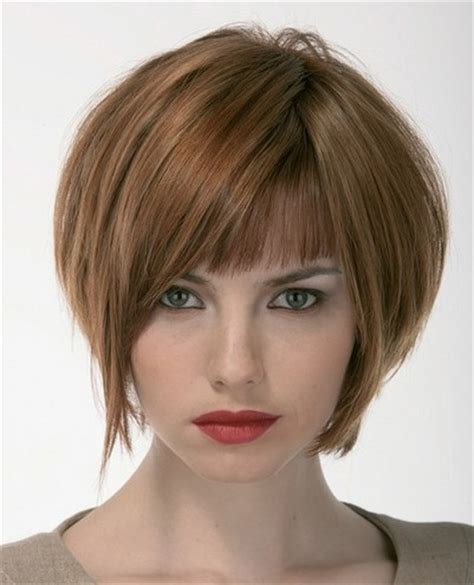 short stacked hairstyles with short sides short hairstyles with bangs beautiful hairstyles