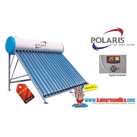Solar Water Heater Polaris polaris 80 l toko perlengkapan kamar mandi dapur