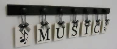Music Wall Decor by Musical Wall Decor Personalized Hanging Letters Includes