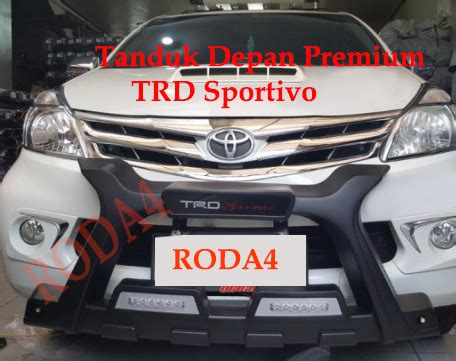 jual tanduk depan bumper depan grand all new avanza