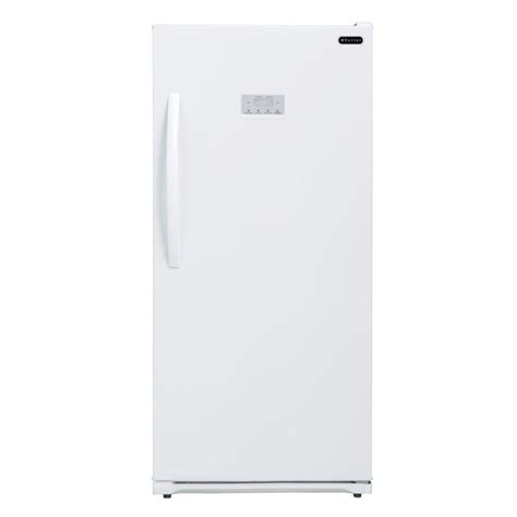 maytag 15 7 cu ft free upright freezer in white