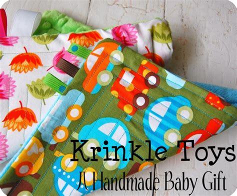 diy crinkle baby diy crinkle baby