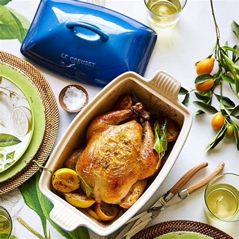 Simple Roast Chicken with Lemons   Williams Sonoma Taste